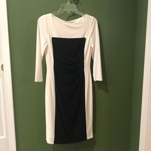 Ralph Lauren Lined 3/4 Sleeve Jersey Dress NWOT